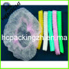 No Woven Disposable Bouffant Cap para Hospital o Salon (HC0196)