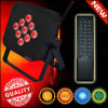 Afstandsbediening 9PCS 10 Watts RGBWA 5in1 Wireless Op batterijen LED Uplighting