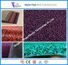 Estera de la bobina del PVC con la estera del suelo del forro/PVC del punto