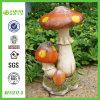 Ornement artificiel de champignon de couche de jardin de Polyresin (NF11217-3)