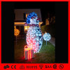 La lumière extérieure de guirlande de corde de motif de bonhomme de neige d'utilisation de Noël