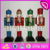 Heißes New Product für Wooden 2015 Nutcracker Dolls, Interesting Wooden Toy Nutcracker, Christmas Decorations Nutcracker Set W02A010