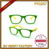 Occhiali da sole del capretto Fk0257 con il blocco per grafici poco costoso di Hotsale dell'obiettivo chiaro