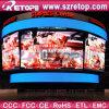 Visualización de LED del centro de deportes de Retop