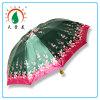 Niza diseño de la flor 3 plegable satén Material de Umbrella para Bangladesh