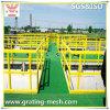 Reja moldeada GRP/FRP de la fibra de vidrio para la plataforma