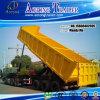 De gebruikte Semi Aanhangwagen van de Stortplaats van 3 As Achter/de Tippende Aanhangwagen van de Vrachtwagen