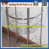 Produits profondément traités de présentoirs de treillis métallique