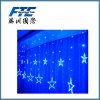별 모양 특별한 파랑 빛 LED 크리스마스 불빛