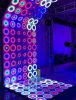 Tuiles dynamiques conçues imperméables à l'eau DEL extérieure Dance Floor de point de l'étape 61X61cm