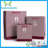 Bolsa de papel de empaquetado del regalo de encargo de la talla con la maneta de la cuerda