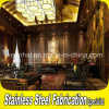 Metallo Stainless Steel Hotel Wall Partition per Lobby