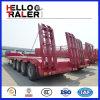4 essieux semi-remorque d'Inférieur-Bâti de 80 tonnes