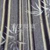 Chenille voor Sofa Fabric met Strip en Leaf Pattern