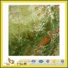 Countertop 또는 Vanitytop (YQC)를 위한 Polished Natural Green Onyx Marble Slabs