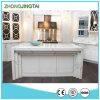 栄光の水晶石のタイルの台所台所は小さい台所現代棒カウンターを設計する