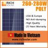 280W PV polykristalliner Sonnenkollektor-Solarbaugruppe hergestellt in Vietnam