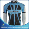 Full Zipper를 가진 주문 Sublimation Cycling 저어지