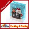 Bolsa de papel de Navidad de la Navidad que hace compras (5110)