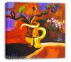 Peinture à l'huile abstraite - modèle neuf (07YG-00124)