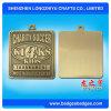 De Medailles van de douane en het Vierkante Antieke Brons van het Medaillon