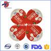Tapas de aluminio del acondicionamiento de los alimentos con la esterilización ULTRAVIOLETA
