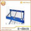 Decking del acoplamiento de alambre de acero para el almacenaje Yd-Wl-13017 del almacén