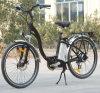 Bicicleta elétrica da bateria de lítio da cidade com farol do diodo emissor de luz (TDE-001)