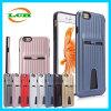 Het creatieve Geval van de Telefoon van de Groef van de Kaarten van de Koffer van de Reis voor iPhone 7/6s/6