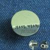 De Jeans van de douane dragen de Afgedrukte Onverwachte Knoop van het Metaal van Toebehoren