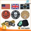 Haken-rückseitiges Flausch-Abzeichen Militär-Belüftung-Gummi-Änderung am Objektprogramm