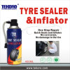 Reifen Sealer&Inflator, Gummireifen-Reparatur-Spray, alle Reichweiten-Gummireifen-Abdichtmasse u. Luftpumpe