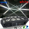 Lumières blanches principales mobiles d'effet de faisceau de l'étape LED 8 *10W