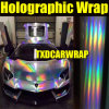 1.49*20m High Reflective Rainbow Chrome Chameleon Laser Holograph Vinyl