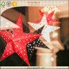 Estrella de la decoración de la Navidad del papel hecho a mano 2016