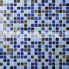 do derretimento quente azul da mistura de 15X15mm telha de vidro do mosaico (BGC005)