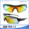 Unisex Custom Logo Printed Wraparound Glasses Wholesale Moda Sports Óculos de sol