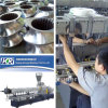 Высокое качество Parallel Twin Screw Extruder для PE/PP с High CaCO3/Talc Filler Masterbatch Pelletizing