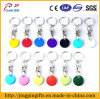 Color CoinsのショッピングTrolley Token Key Chain