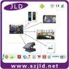 VGA de Jld, sistema de pesos americano, placa madre del monitor de la pantalla táctil de HDMI 10.1 '' LCD