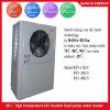 Trabajo en la calefacción en seco de la industria del tiempo R134A+R410A de -20c usar la pompa de calor aire-agua Cop3.2 da alta temperatura. Enchufe 90deg c