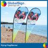 Bannière de plage de plume de vol de la publicité extérieure (modèle A)