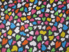 Oxford 600d Hearts Printing Polyester Fabric (DS1190)