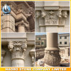 Colonne architettoniche della colonna della pietra romana decorativa della colonna