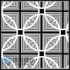 201 rayita de 304 espejos grabaron al agua fuerte la hoja de acero inoxidable del color (PT096)