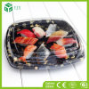 Jetable emporter le plateau en plastique de sushi d'impression pour le conditionnement des aliments