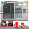 Энергосберегающее двойное стеклянное окно PVC/UPVC пластмассы сползая