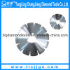 Laser Welded Diamond Blades para Green Concrete para Machine Macio-Cut