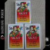 Cartes de jeu de Spiel de Skat Beim