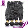 Constructeurs indiens d'extensions de cheveux de Vierge naturelle d'onde de qualité de prime d'échange de beauté